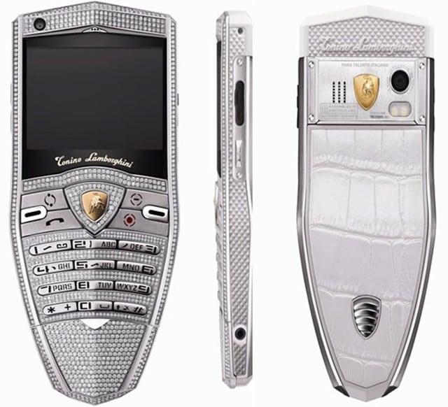 Elegant Lamborghini Celebrates 30th Anniversary With Spyder Supreme Diamond Cell  Phone!!