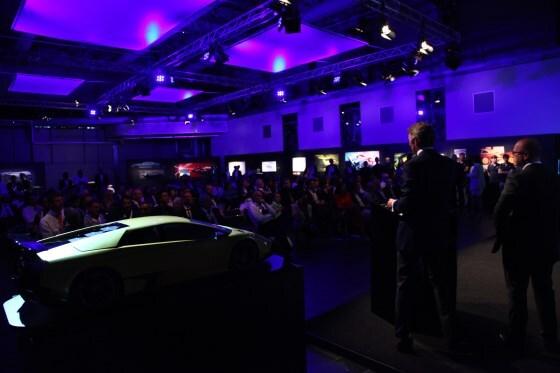 Lamborghini Egoista Concept Supercar Revealed During 50th