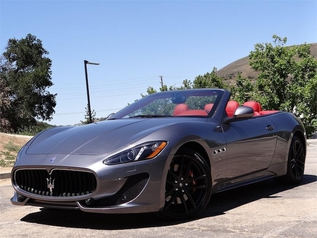 2016 Maserati GranTurismo Sport Convertible NMG167353