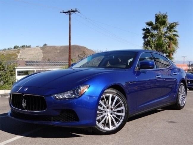 2016 Maserati Ghibli Base Sedan NMG172121