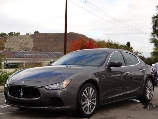 2015 Maserati Ghibli Base Sedan NMF156112