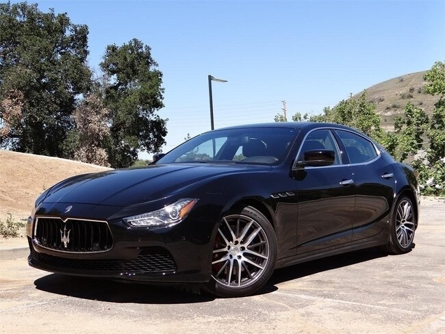 2015 Maserati Ghibli S Q4 Sedan NMF139381