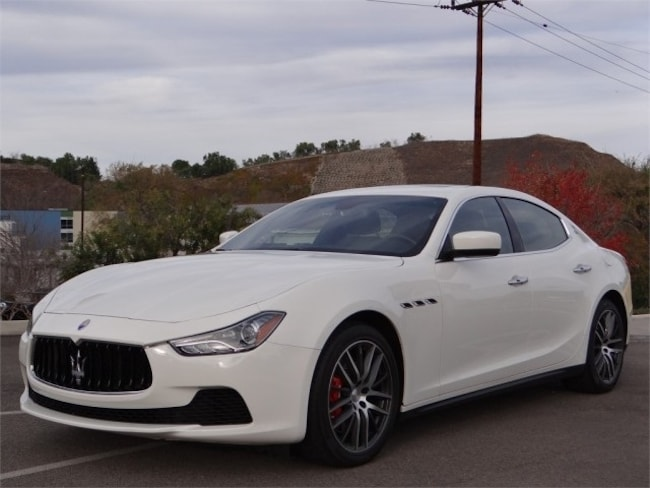 2015 Maserati Ghibli Base Sedan UMF133399