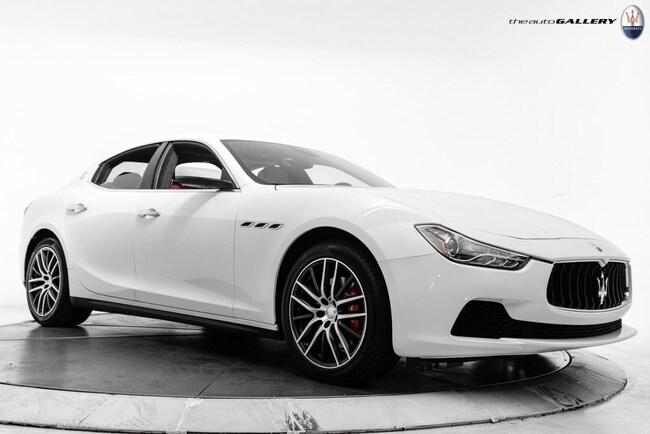2017 Maserati Ghibli Base Sedan NMH198989