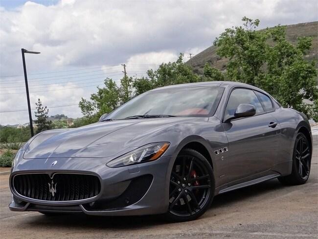 2016 Maserati GranTurismo Sport Coupe NMG167355