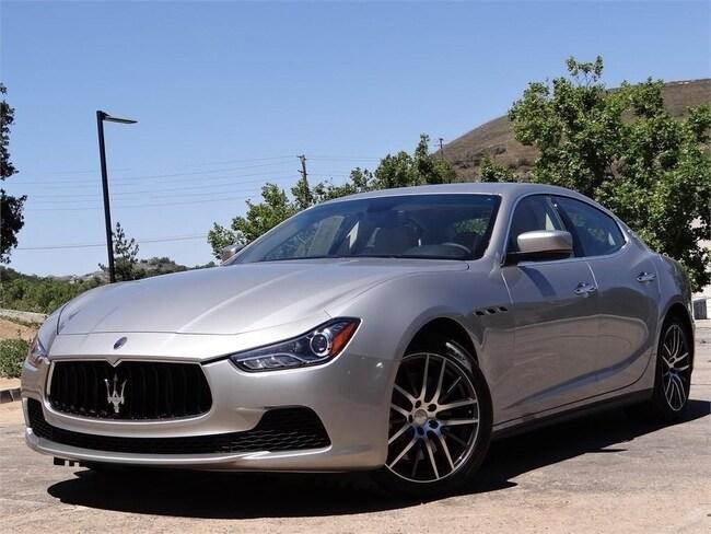 2015 Maserati Ghibli Base Sedan NMF130465