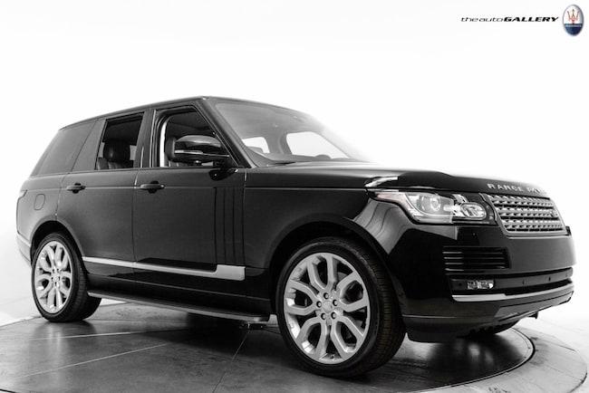 2016 Land Rover Range Rover 5.0L V8 Supercharged SUV UMG251034