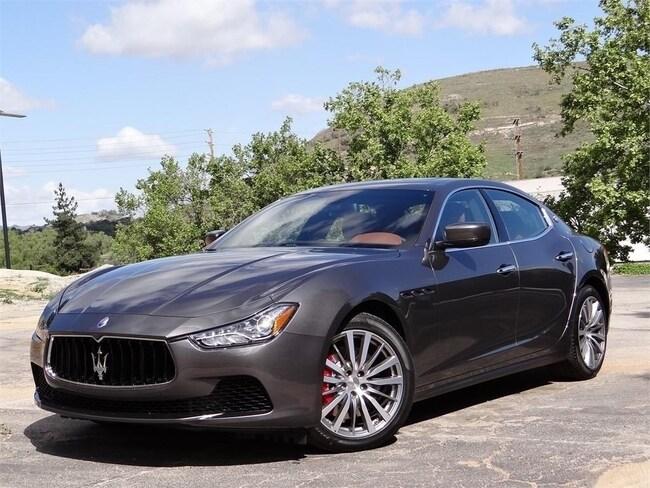 2016 Maserati Ghibli S Q4 Sedan NMG178751