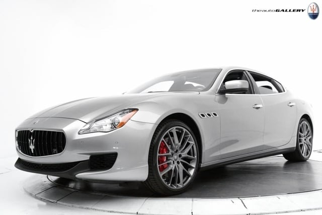 2014 Maserati Quattroporte GTS Sedan