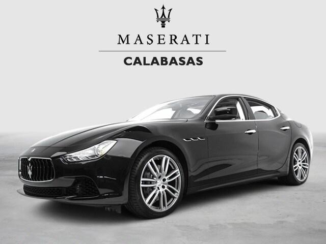 2015 Maserati Ghibli Base Sedan