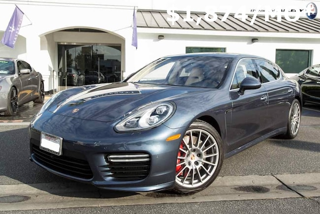 2014 Porsche Panamera Turbo Executive Hatchback UME077302