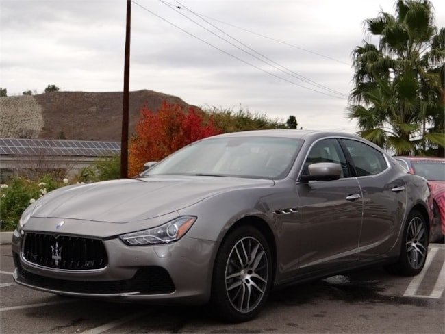 2014 Maserati Ghibli Base Sedan NME083431