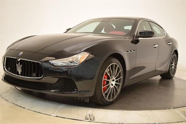 2017 Maserati Ghibli S Sedan NMH216822