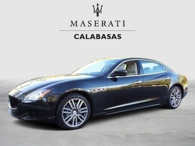 2015 Maserati Quattroporte S Q4 Sedan UMF130393