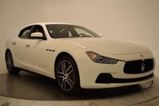 2017 Maserati Ghibli Base Sedan NMH213817