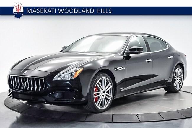 2017 Maserati Quattroporte S Sedan NMH238331