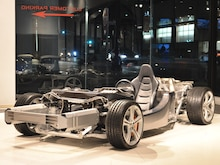 2012 McLaren MP4-12C Rolling Chasis Cutaway