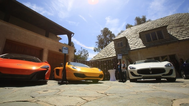 The Auto Gallery cars on display at the 2014 Greystone Concours d'Elegance
