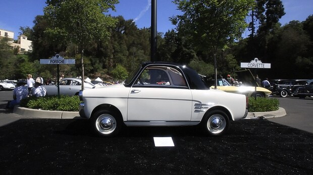 An Autobianchi at the 2014 Greystone Concours