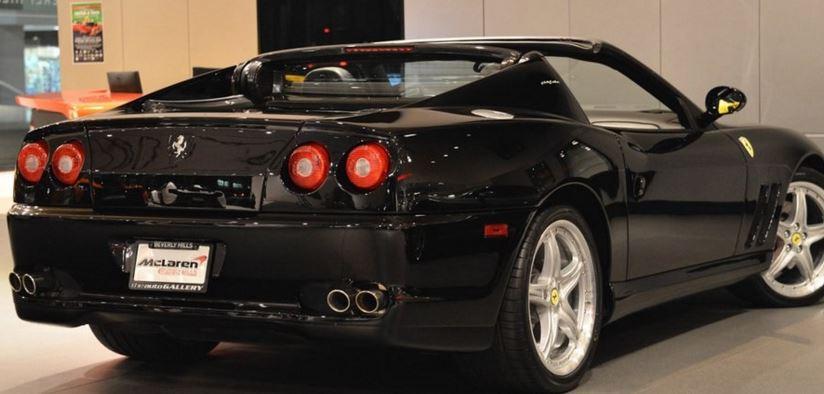 Ferrari Superamerica 575M at The Auto Gallery