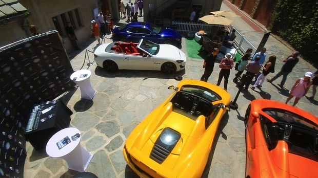 The Auto Gallery display at the 2014 Greystone Concours d'Elegance