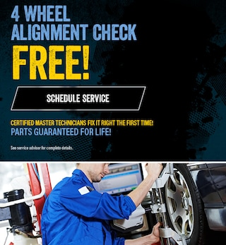 Free 4 Wheel Alignment Check