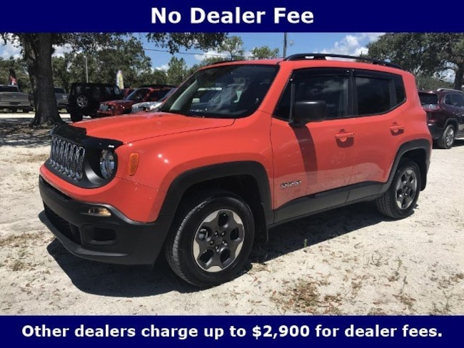 New 2018 Jeep Renegade SPORT 4X4 Sport Utility for Sale in LaBelle, Florida