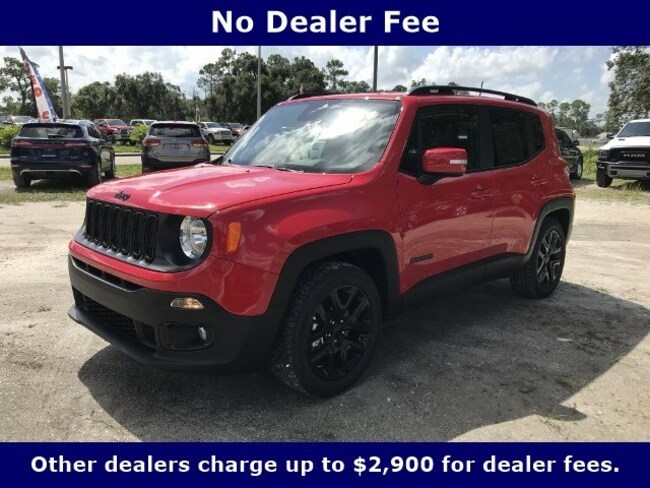 New 2018 Jeep Renegade ALTITUDE 4X2 Sport Utility for Sale in LaBelle, Florida
