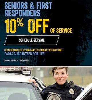 First Responders & Seniors Discount