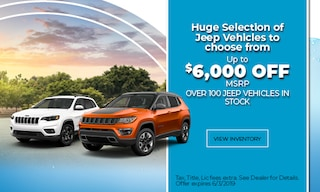 May Jeep Cash Offer