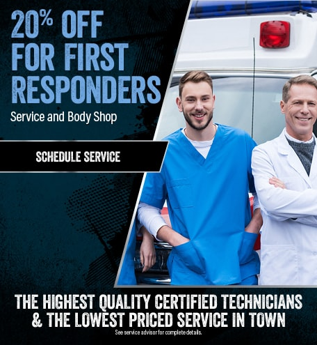 First Responders 20% off Service