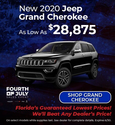 New 2020 Jeep Grand Cherokee