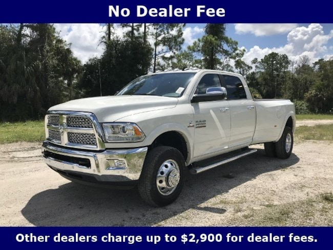 New 2018 Ram 3500 LARAMIE CREW CAB 4X4 8' BOX Crew Cab for Sale in LaBelle, Florida