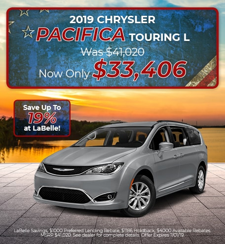 2019 Chyrsler Pacifica Touring L