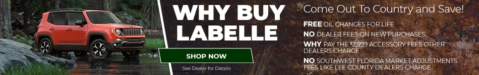 Why Buy LaBelle - April
