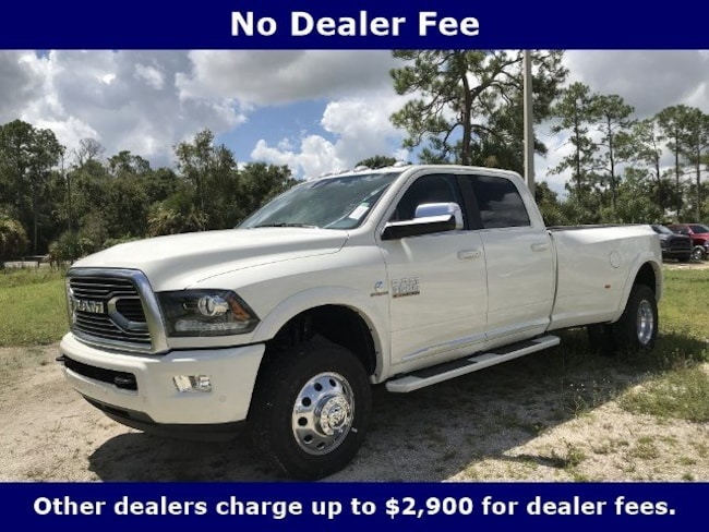 New 2018 Ram 3500 LIMITED CREW CAB 4X4 8' BOX Crew Cab for Sale in LaBelle, Florida