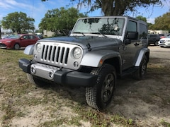 Used 2018 Jeep Wrangler JK Sahara 4x4 SUV for Sale in LaBelle, Florida