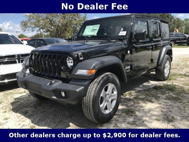 New 2018 Jeep Wrangler UNLIMITED SPORT S 4X4 Sport Utility for Sale in LaBelle, Florida