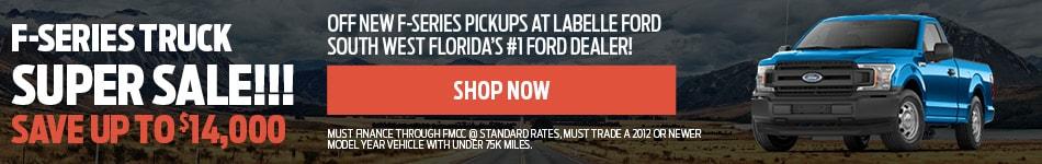 F-Series Truck Super Sale