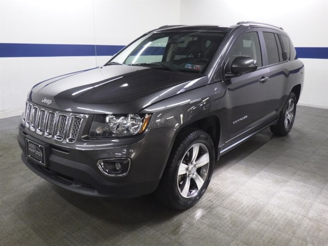 2017 Jeep Compass High Altitude 4x4 w/ Leather and Sunroof SUV