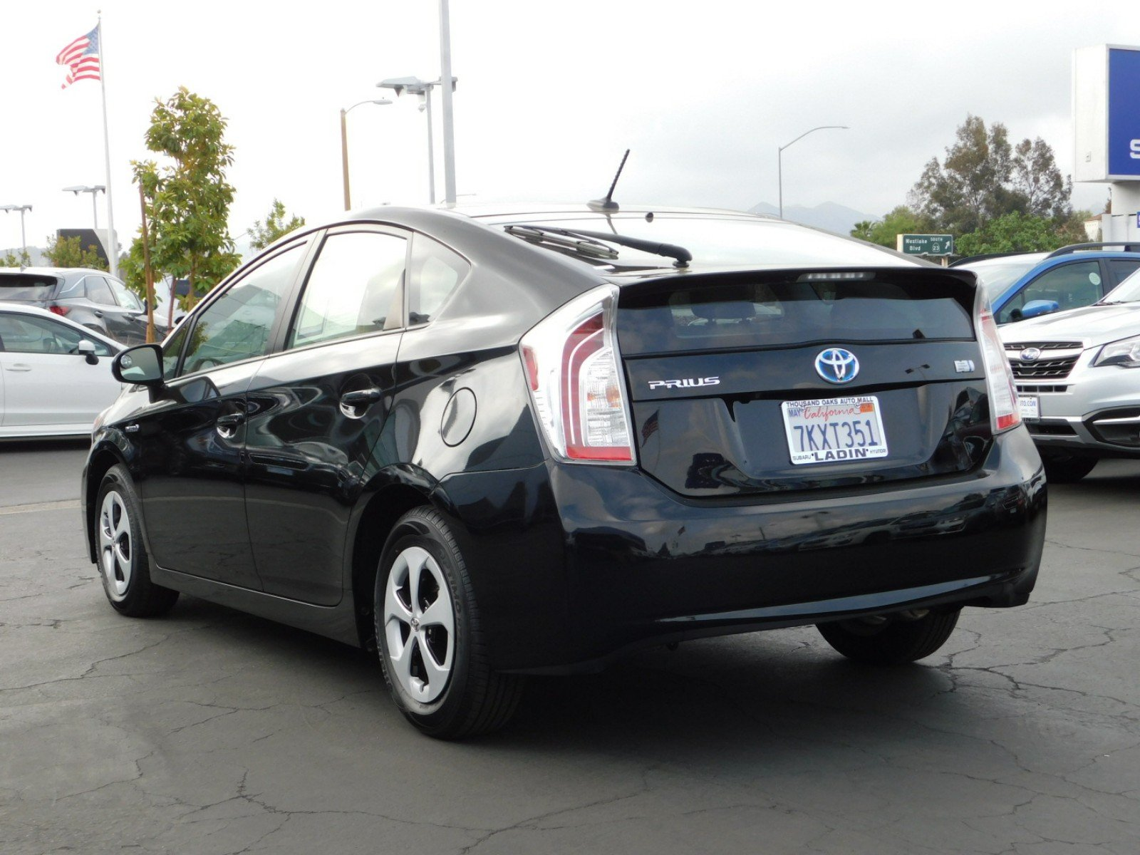 ... Used 2015 Toyota Prius Four Hatchback Thousand Oaks ...