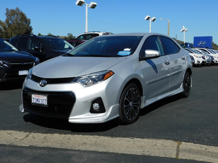 Used Toyota Corolla For Sale >> Used 2016 Toyota Corolla S Plus For Sale In Thousand Oaks Ca