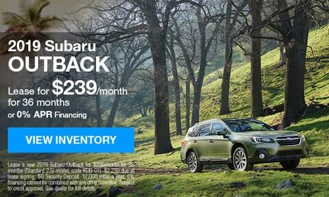 2019 Subaru Outback - August