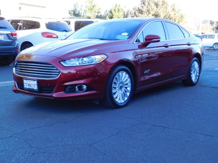 Used 2014 Ford Fusion Energi Titanium Sedan Thousand Oaks