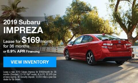 2019 Subaru Impreza - August