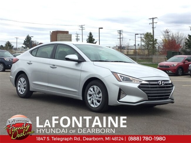 New 2019 Hyundai Elantra SE Sedan for sale/lease in Dearborn, MI