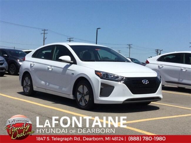 New 2019 Hyundai Ioniq Hybrid Blue Hatchback for sale/lease in Dearborn, MI