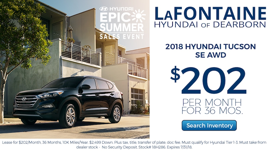 New and Used Hyundai Dealer Dearborn | LaFontaine Hyundai