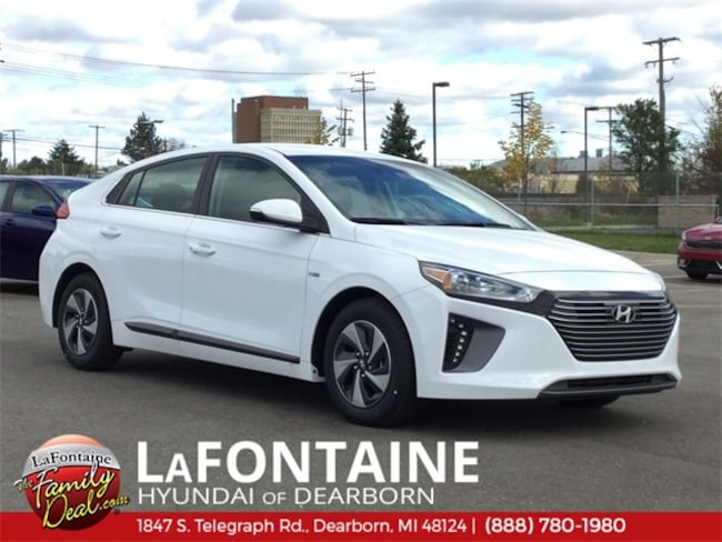 New 2019 Hyundai Ioniq Hybrid SEL Hatchback for sale/lease in Dearborn, MI