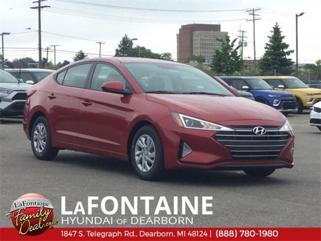 New 2019 Hyundai Elantra SE Sedan for sale/lease in Dearborn, MI